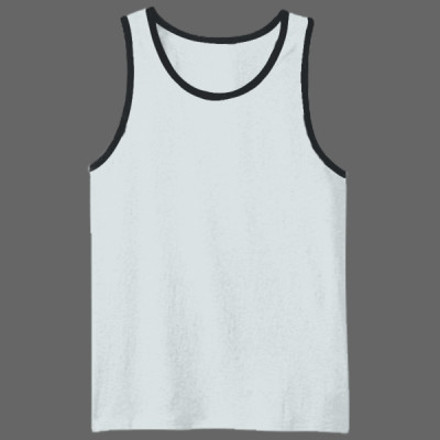 DT1500 Young Mens Cotton Ringer Tank